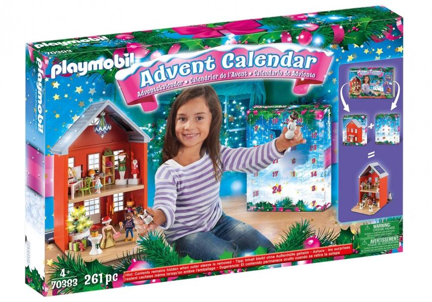 playmobil 70383 adventskalender xl kerst in huis  prijzen